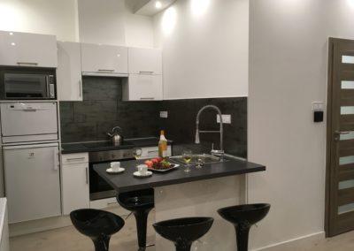 Gutenberg Apartments - 20-as Apartman: Konyha