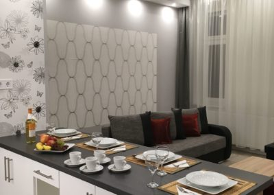 Gutenberg Apartments - 21-es Apartman - Nappali