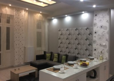 Gutenberg Apartments - 22-es Apartman: Nappali